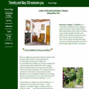 Ludlow Self Catering Holiday Cottages