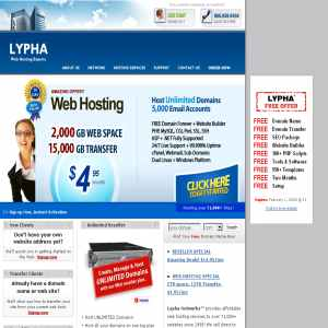 Lypha Cheap Hosting