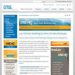 Email Marketing Solution from Lyris