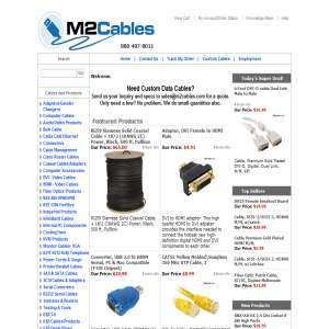 M2Cables-Cat5E USB Custom Cables