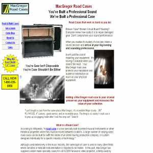 MacGregor ATA Flight & Road Cases
