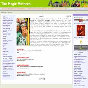 The Magic Morocco