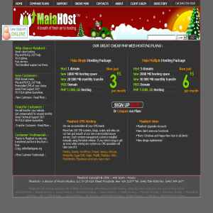 Maiahost - PHP Web Hosting