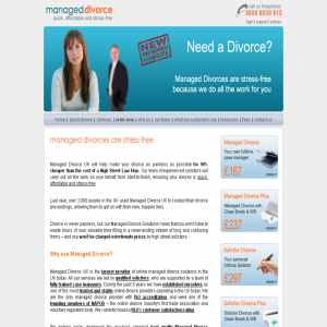 Managed Divorce | UK Divorce