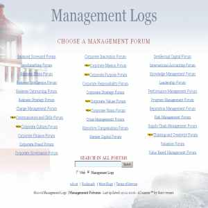 Management Forum | Logs