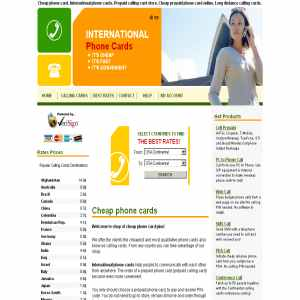 Prepaid phone card | International phone cards online