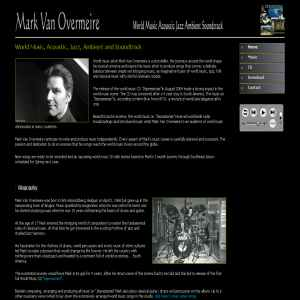 Mark van Overmeire | world music artist