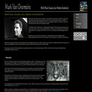 Mark van Overmeire | world music artist