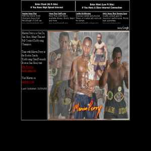 Marvin Perry Kickboxing Champion