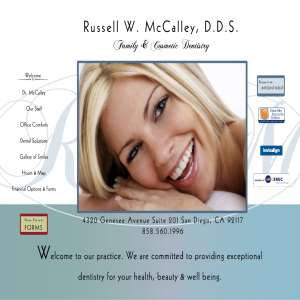Russell W. McCalley, DDS, Inc.