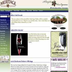 Meritage Wine Market and Tasting Room