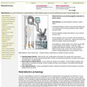 Metal Detectors Directory