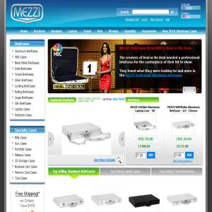MEZZI Aluminum Carrying Cases