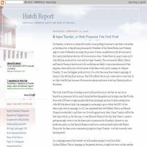 Hutch Report