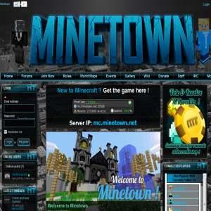 Minetown - Minecraft Server