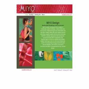 Miyo Handmade Handbag
