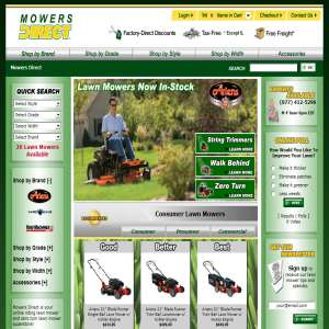 Mowers Direct - Lawn Mower Superstore
