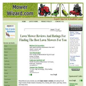 Lawn Mower Reviews and Ratings