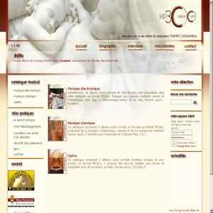 MP3-creation (Thierry Cassagneaus MP3 catalogue)