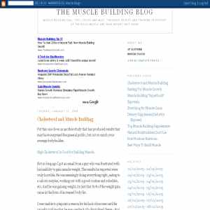 Muscle Building Blog