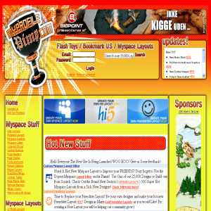 Myspace Layouts & Graphics