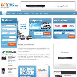 Find Used Cars And Car Loans At Netcars.com