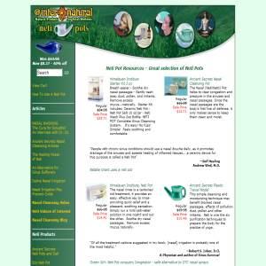 Neti-Pot.com - Wide selection of neti pots & info