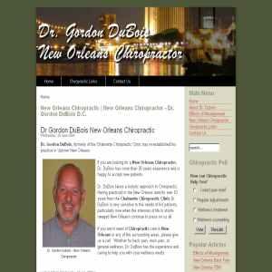 New Orleans Chiropractor