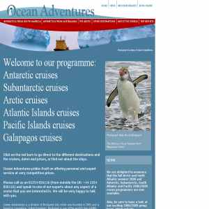Cruise holidays - Antarctica, the Falklands & South Georgia
