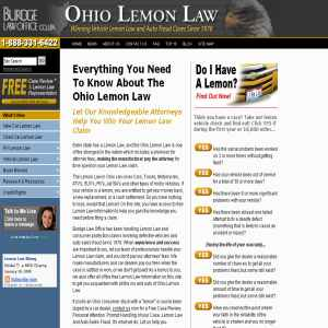 Ohio Lemon Law at Burdge Law Office; Ohio Lemon Law, Lemon Law In Ohio