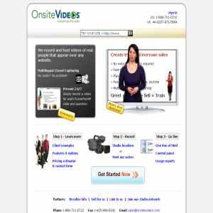 Online Video salesman