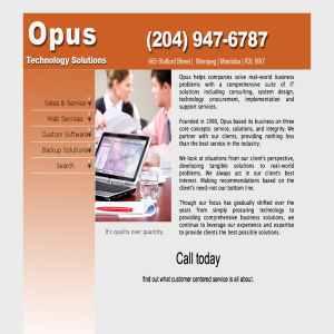OPUS - Winnipeg Computer Services