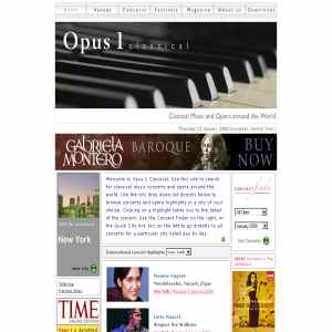 Classical Music, Concerts, News | Opus 1 Classical