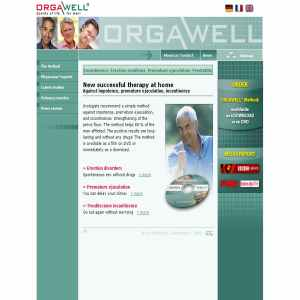 ORGAWELL, against impotence, prostatitis & incontinence