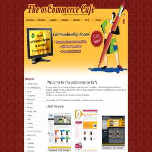 The osCommerce Cafe | Templates & Themes