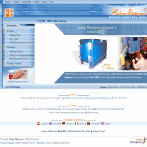 Manufacturer and exporter of Industrial Ovens and Furnaces.