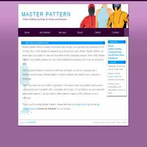 Master Pattern Design & Pattern Drafting