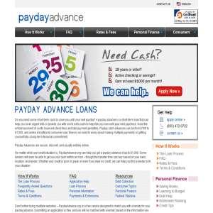 PaydayAdvance.org - Borrow Money Online