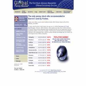 Global Penny Stocks