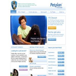 Pet health insurance from Petplan