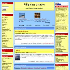 Philippines Vacation