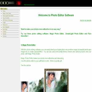 Photo editor software, free to try