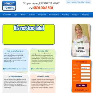 Pitman IT Training Courses in Kent