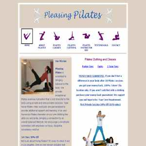 Pleasing Pilates – Pilates Studio