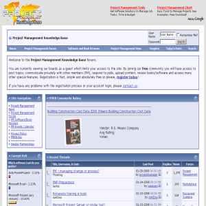 Project Management Knowledge Base