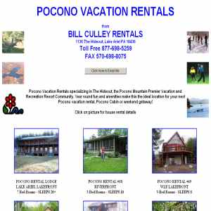 Pocono Vacation Rentals