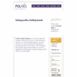 Polaris Public Relations Inc
