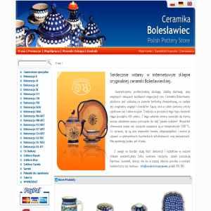 Polish pottery Boleclawiec