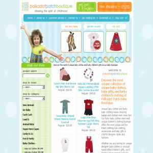 Polka Dot Patch Boutique. Looking for childrens clothing as unique as your ...