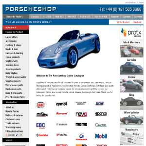 Porsche parts & accessories at Porscheshop